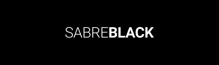 Sabre Black Logo